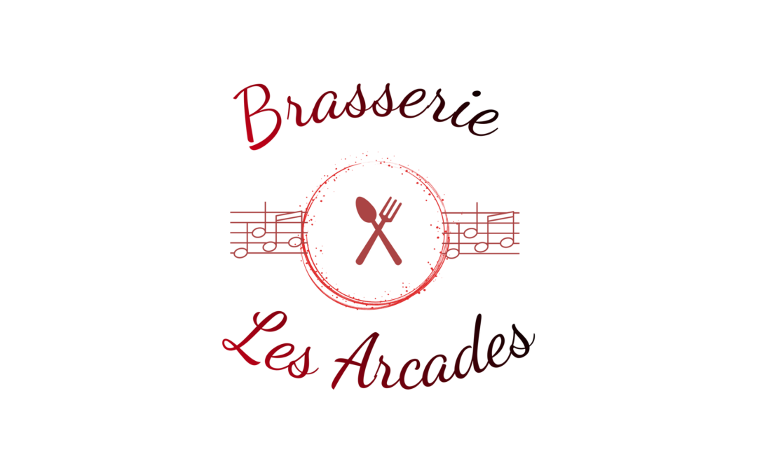 Logo brasserie Les Arcades