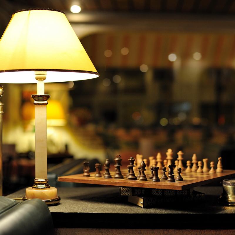photo d'ambiance de la salle du restaurant les arcades