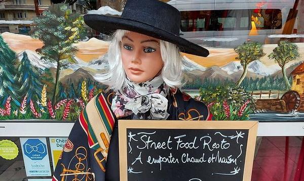 street food au restaurant les Arcades à Grenoble
